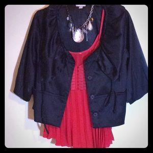 Stunning Black ECI New York Boutique Jacket